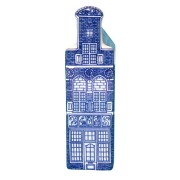 Delft Blue - Small Neck Gable -  Canal House