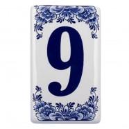 Huisnummer 9 - Delfts Blauw
