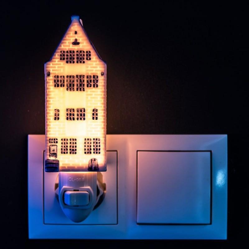 Canalhouse 1 - Delft Blue - Night Light