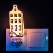 Night Light - Wall Light Canalhouse 4 - Delft Blue - Night Light