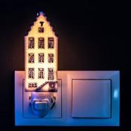 Night Light - Wall Light Canalhouse 5 - Delft Blue - Night Light