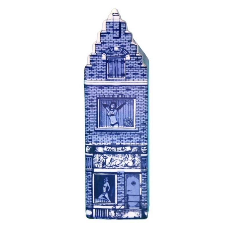 Delfts Blauw - Klein Wellust - Grachtenhuis