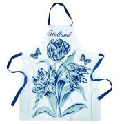 Keuken textiel Keukenschort - Delfts Blauw Tulp