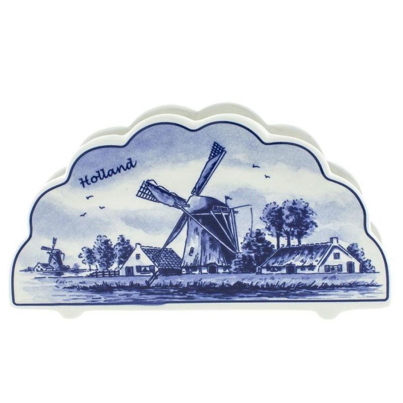 Napkins Holder - Delft Blue