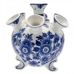 Flower Delft Blue - Tulip Vase 17cm
