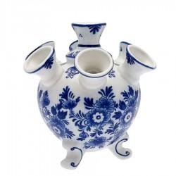 Tulip Vases Flower Delft Blue - Tulip Vase 12cm