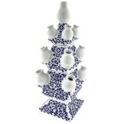 Tulpenvazen Bloemen Delfts Blauw - Tulpenvaas 40cm