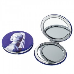 Mirror Box Girl with Pearl Earring - Mirror Box Round