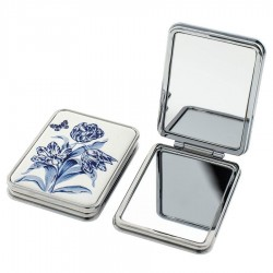 Tulip Delft Blue - Mirror Box Rectangle