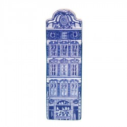 Delft Blue - Small Bell Gable -  Canal House