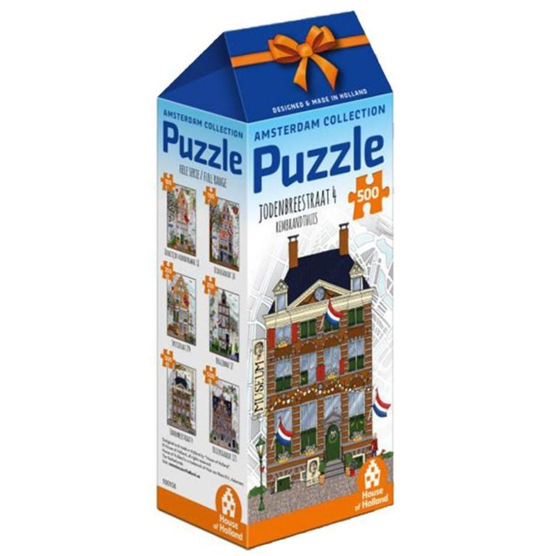 Rembrandt House - 500 pieces Jigsaw Puzzle