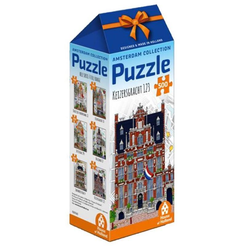 Huis met de Hoofden - 500 stukjes Legpuzzel