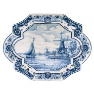 Applique - Wall Plates Applique Windmill - Large 35 x 27 cm