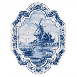 Applique Windmill - Vertical 27 x 35 cm