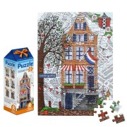 Puzzels - Legpuzzels Grachtenhuis nr 2 - 100 stukjes Legpuzzel