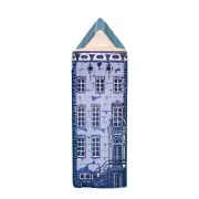 Delft Blue - Small Cornice Gable -  Canal House