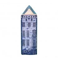 Delfts Blauw - Klein Lijstgevel - Grachtenhuis