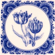 Tiles Tulips - Tile 15x15 cm
