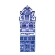 Delft Blue - Small Fantasy Gable -  Canal House