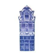 Delfts Blauw - Klein Fantasie gevel - Grachtenhuis