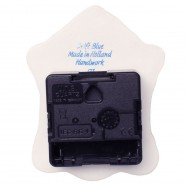 Clocks Mini Wall Clock - Delft Blue 10,5 cm