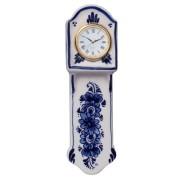 Klokken Miniatuur Staartklok 16 cm - Delfts Blauw