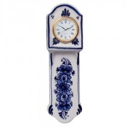 Miniatuur Staartklok 16 cm - Delfts Blauw