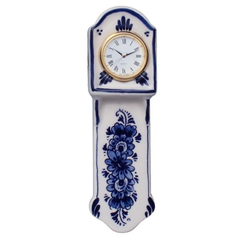 Clocks Miniature Wall Clock 16 cm - Delft Blue