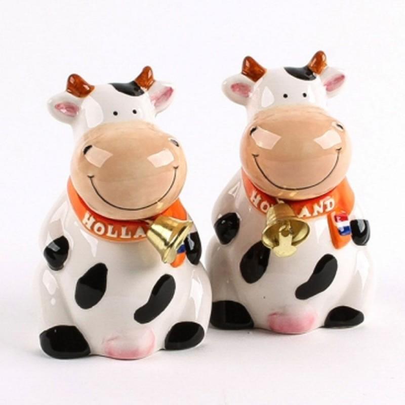 Peper en zout stel Zittende Koeien