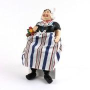 Poppen  Traditionele Vrouw - Bungelbenen - 24cm