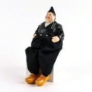 Poppen  Traditionele Man - Bungelbenen - 26cm
