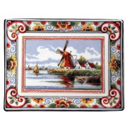 Applique - Wall Plates Applique Poldermolen Polychrome