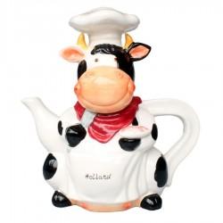 Teapot  Cow - 25cm