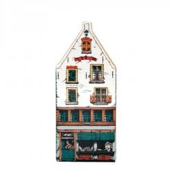 Polychrome - Large Triangular Gable -  Canal House