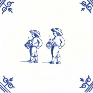 Old Dutch Children's Games Drums - Childs Play 12,5 cm
