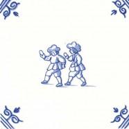 Oud Hollandse Kinderspelen Klootschieten - Kinderspelen 12,5cm