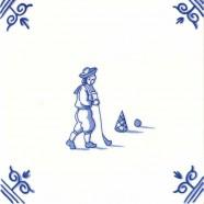 Oud Hollandse Kinderspelen Kolven - Kinderspelen 12,5cm