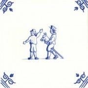 Oud Hollandse Kinderspelen Stokpaardje Rijden - Kinderspelen 12,5cm