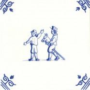 Old Dutch Children's Games Stick Horse Riding - Childs Play 12,5 cm