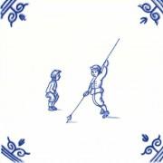 Oud Hollandse Kinderspelen Polsstokspringen - Kinderspelen 12,5cm