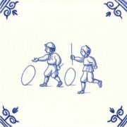 Oud Hollandse Kinderspelen Hoepelen - Kinderspelen 12,5cm