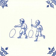 Old Dutch Children's Games Hoops - Childs Play 12,5 cm