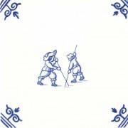 Oud Hollandse Kinderspelen Poolstokspringen - Kinderspelen 12,5cm