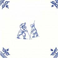 Poolstokspringen - Kinderspelen 12,5cm