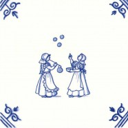 Old Dutch Children's Games Blowing Bubbles - Childs Play 12,5 cm