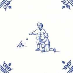 Oud Hollandse Kinderspelen Knikkeren - Kinderspelen 12,5cm