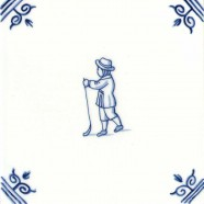 Old Dutch Children's Games Playing Golf - Childs Play 12,5 cm