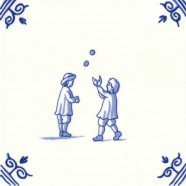Old Dutch Children's Games Ball Play - Childs Play 12,5 cm