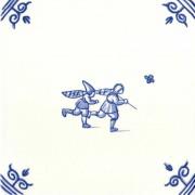 Oud Hollandse Kinderspelen Vlinders Vangen - Kinderspelen 12,5cm