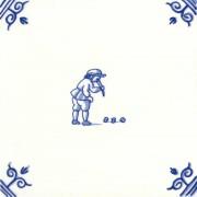 Old Dutch Children's Games Bikkelen Koten - Childs Play 12,5 cm